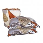 FREE 2 PCS PILLOWS with  Comforter Set - 60 x 75 Design 6