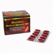 Ibuprofen Medicol Advance 10's 400mg Capsule