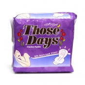Those Days All Night Sanitary Napkin  w/ Wings 8's
