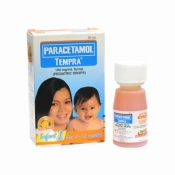 Paracetamol Tempra Infant 1 30ml Syrup Orange Flavor