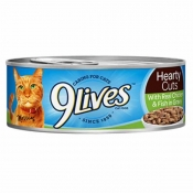 9 Lives Cat Food Tender Morsels with Real Flaked Tuna In Sauce 5.5OZ