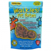 Crazy Dog Walkies Fit Bites - Chicken 4 oz