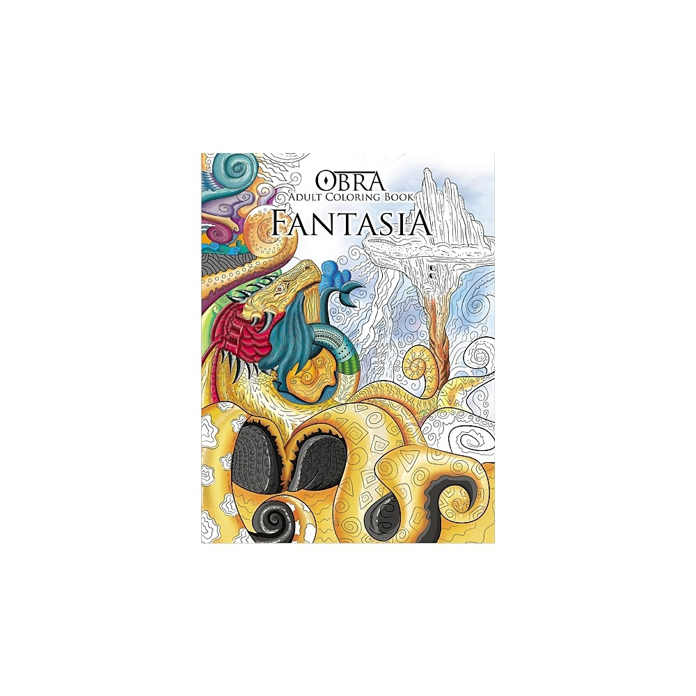 Buy 1 Take OBRA Adult Coloring Book Animalia Fantasia