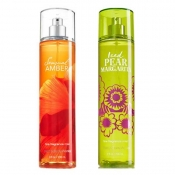 Buy 1 Take 1 Fine Fragrance Mist Bath & Body Works Iced Pear Margarita & Sensual Amber