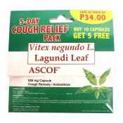 ASCOF Lagundi 600mg 10+5 Capsules