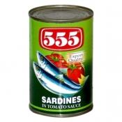 555 Sardine in Tomato Sauce 425g