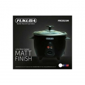 Fukuda FRC815M Rice Cooker 1.5L 2in1 Glass Cover Matte (Drum Series)