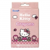 Hello Kitty Crayons 2 - 16 Colors