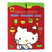 Hello Kitty Jumbo Coloring Book Theme 2