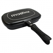 Masflex 32cm Double Sided Pressure Grill Pan