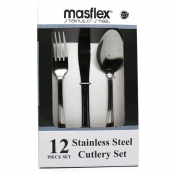 Masflex Stainless Steel Cutlery Set 12 Pieces