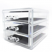 Cascade 3 Layer Drawer Cosmetic Organizer