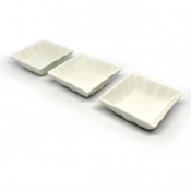 Masflex 3pc Square Plate l Porcelain  Serveware