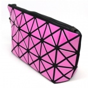 Tile-Themed Pouch - Pink
