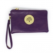 Wristlet Wallet (Removable handle) - Voilet