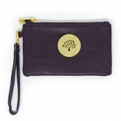 Wristlet Wallet (Removable handle) - Dark Voilet