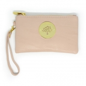 Wristlet Wallet (Removable handle) - Peach
