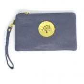 Wristlet Wallet (Removable handle) - Light Blue