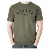 Arched Reebok Tee - Army GRN