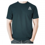 Reebok WOR Stacked Logo Supremium Tee - FROST GRY