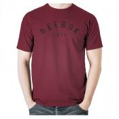 Arched Reebok Tee - RUG MRN