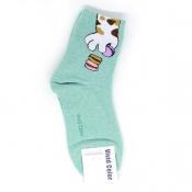 Sneaked Burger Hi-Cut Socks