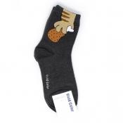 Sneaked Fried Chicken Hi-Cut Socks