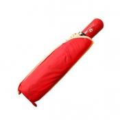 Automatic Foldable Umbrella   Red