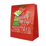"CHRISTMAS GIFT BAG | 18 ½"" x 13 ½"" - Design 2"