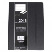 2018 Executive Diary Weekly - Black