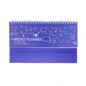 Weekly Planner - Blue