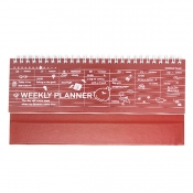 Weekly Planner - Red