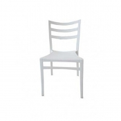 STELLA COLORED CHAIR WHITE