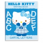 Hello Kitty Writing Capital Letters