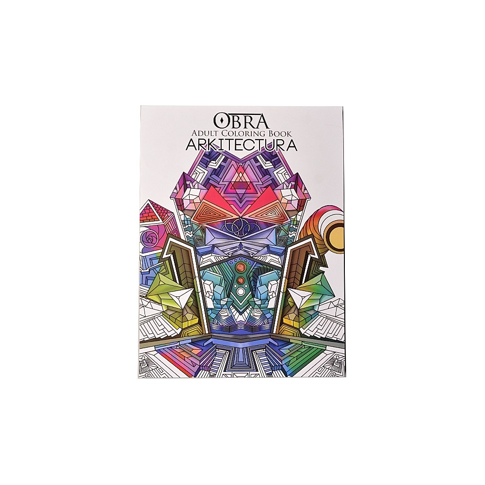 Buy 1 Take 1 OBRA Adult Coloring Book Arkitektura Graphica For