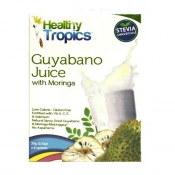 Healthy Tropics Guyabano with Moringga Instant Fruit Juice Drink(Sweetened by Stevia)