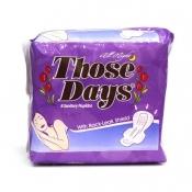 Those Days All Night Sanitary Napkin  w/ Wings 8's