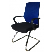 Office Mid Back Chair - Blue