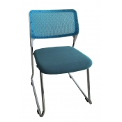 Mid Back Mesh Chair - Blue