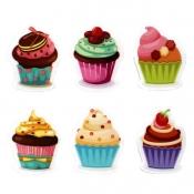 Cupcake Eraser  Set