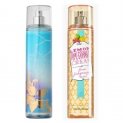 Buy 1 Take 1 Fine Fragrance Mist Bath & Body Works Violet Lily Sky & Lemon Promegranate Cream