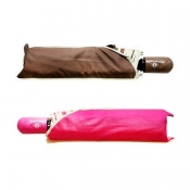 Buy 1 Take 1 Automatic Foldable Umbrella Set 13 (Brown/Pink)