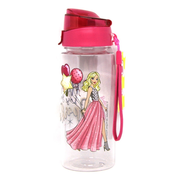 Barbie Water Bottle with Strap