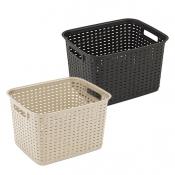 Tall Weave Basket
