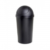 ROUND SWING TOP WASTE BASKET 3 GAL