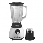 1.5L Glass Jar Powerful Blender - Glass Jar With Plastic Mill