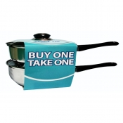 Buy 1, Take 1 20 cm Saucepan Stainless Steel Set