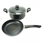 3-pc  Non-Stick  Cookware Set