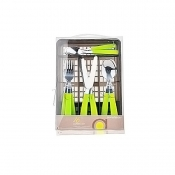 16pcs Cutlery Set with Basket