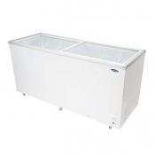 Fujidenzo Glass Top Chest Freezer